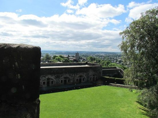 Stirling Castle: views from battlements