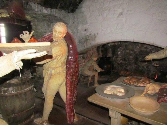 Stirling Castle: kitchens