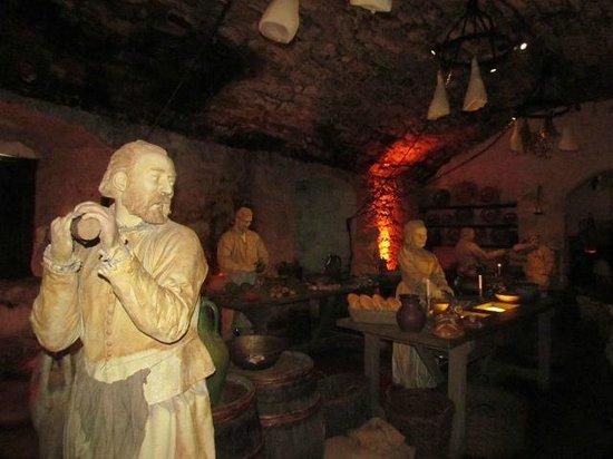 Stirling Castle: kitchen