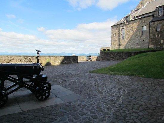 Stirling Castle: battlements