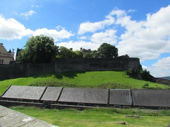Stirling Castle: from afar