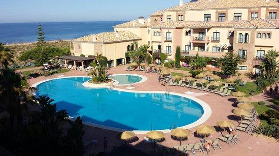 Barcelo Punta Umbria Mar: Vista desde la habitacion número 349