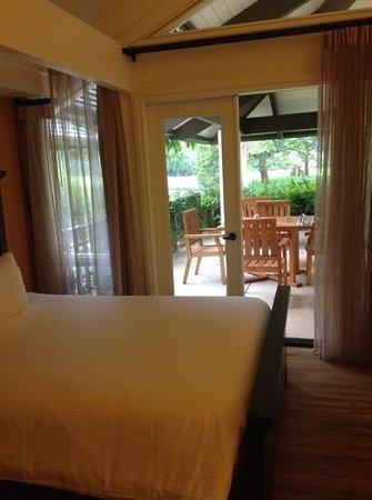 Quail Lodge & Golf Club: The view deom our room.
