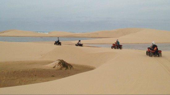 Hotel Riu Touareg : Balade en quad dans les dunes
