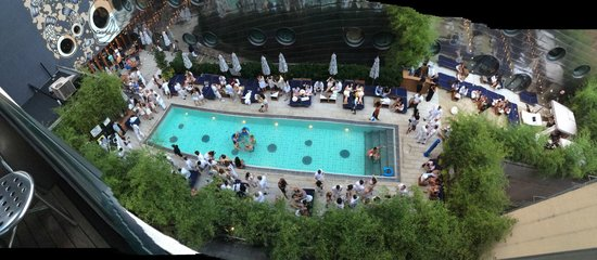 Dream Downtown: AMAZING POOL PARTY!!!