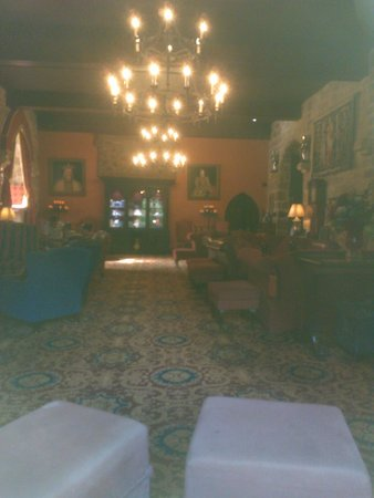 Langley Castle Hotel: The Drawing Room