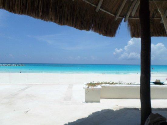 Krystal Cancun: palapas