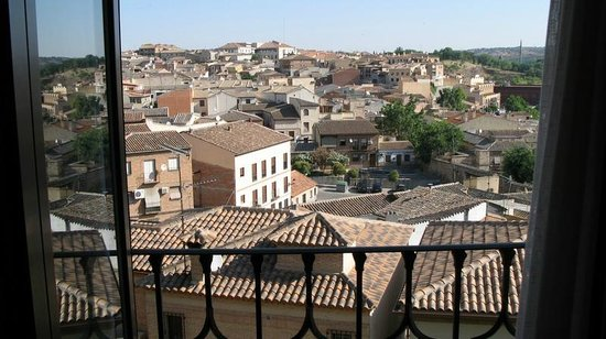 Hotel Medina de Toledo: Room with a view