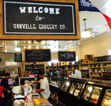 Oakville Grocery: Funky specialty groceries & deli... LOVE this place!