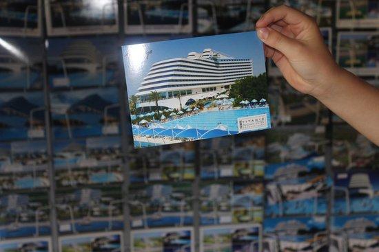 Titanic Beach Lara Hotel: Postcard 😊