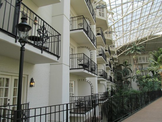 Gaylord Opryland Resort & Convention Center: Balcony