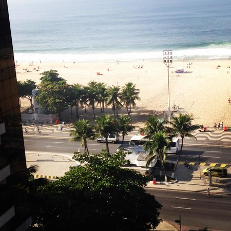 Oceano Copacabana Hotel: Balcony view from the 11th FL