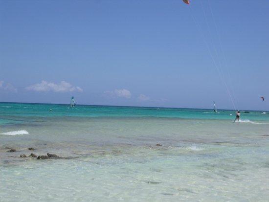 smartline Playa Park: strand 2,5 km buiten corralejo