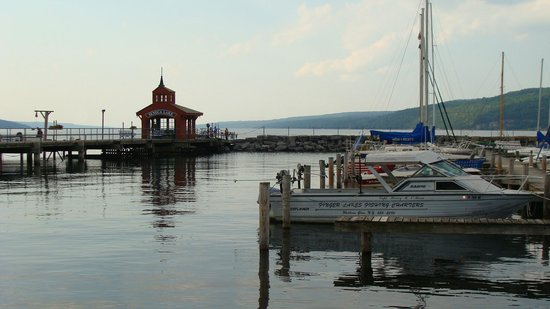 Watkins Glen State Park: Seneca Lake Harbor