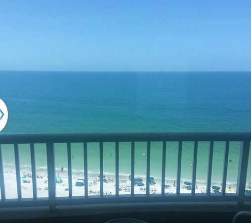 Lido Beach Resort 11th floor view