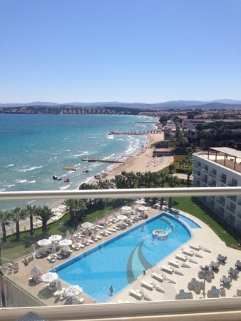 Boyalik Beach Hotel & Spa Cesme: View from balcony
