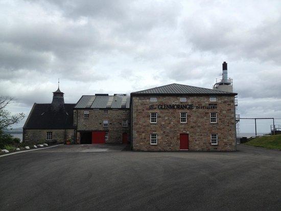 Glenmorangie Distillery: Beautiful building