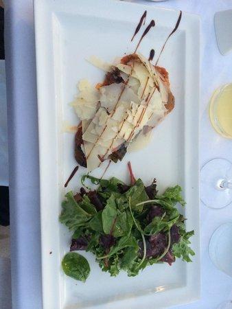 Restaurant le Marinella : Plat (aubergine et parmesan)