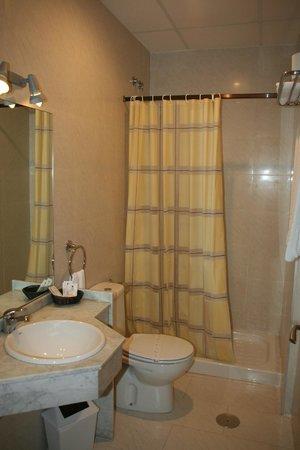 Hotel Balcon de San Bartolo: baño