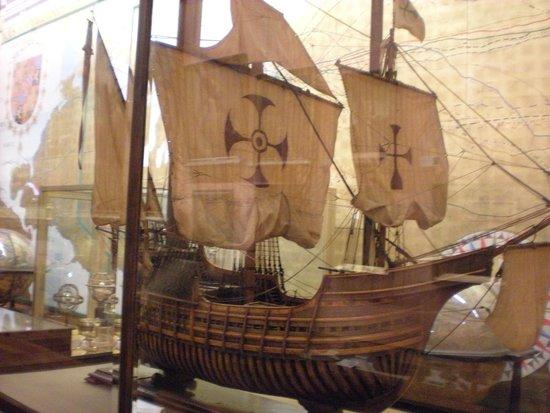 Naval Museum : La caravella Santa Maria