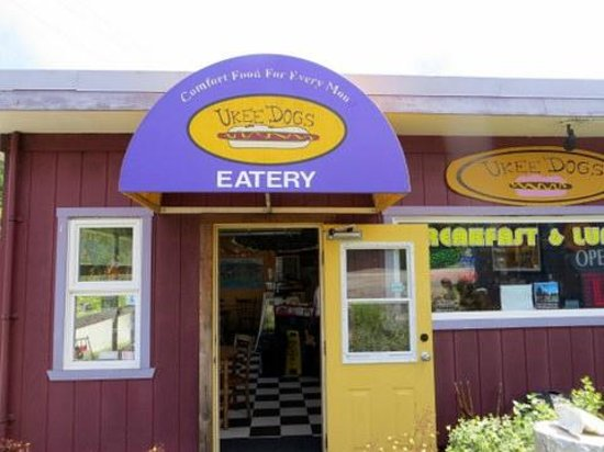 UKEE DOGS EATERY : Front entrance