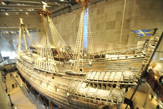 The Vasa, on Display at the Vasa Museum