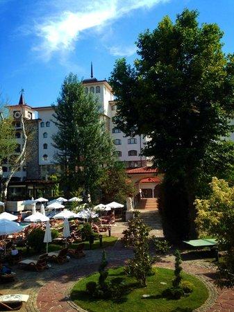 Helena Park Hotel : View from lobby bar