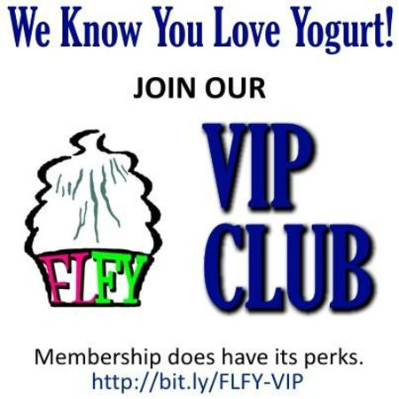Finger Lakes Frozen Yogurt: Join our VIP Club