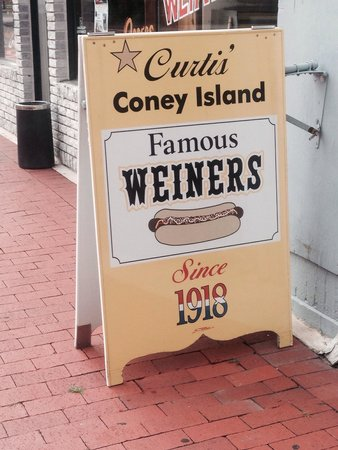 Curtis Famous Weiners: 1918!! Must be doing something right!!