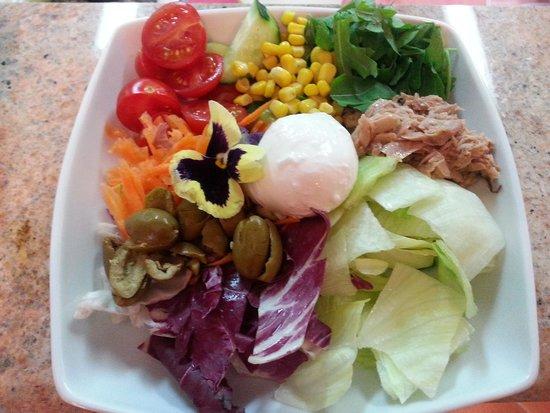 Ristorante La Zagara: chef salad...