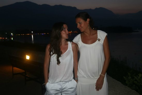 Club Med Kemer : By the sea. Girls going out.