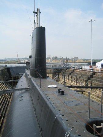 The Historic Dockyard Chatham: Submarine!