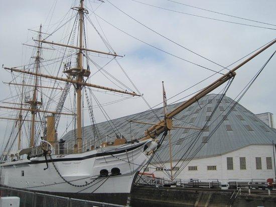 The Historic Dockyard Chatham : HMS Gannet