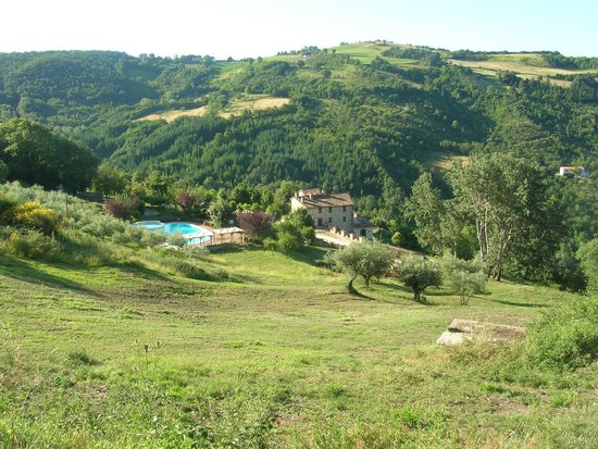 Agriturismo Val di Boccio: Panorama