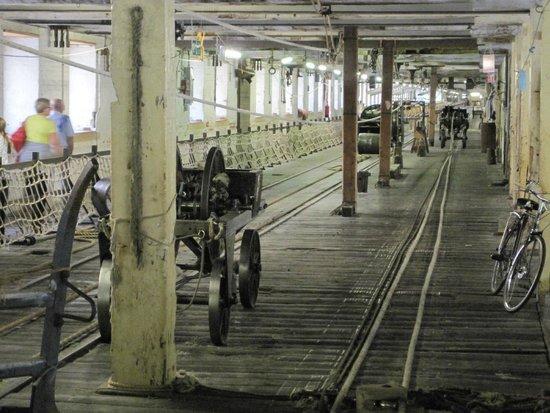 The Historic Dockyard Chatham : Rope walk