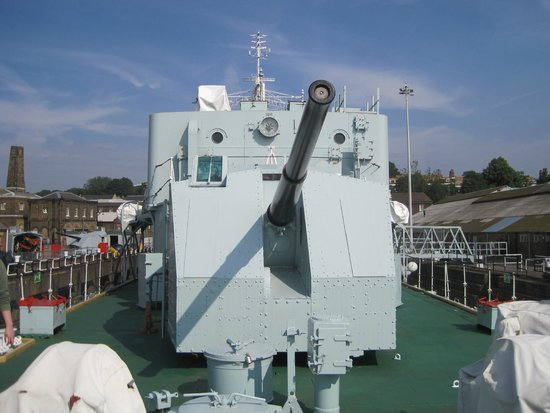 The Historic Dockyard Chatham : HMS Cavalier