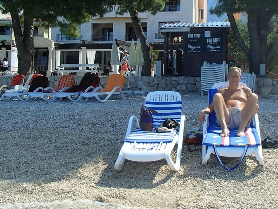 Villa Andrea: Beach in front of hotel