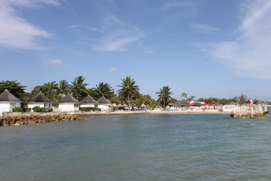 Royal Decameron Club Caribbean: View from the pier.