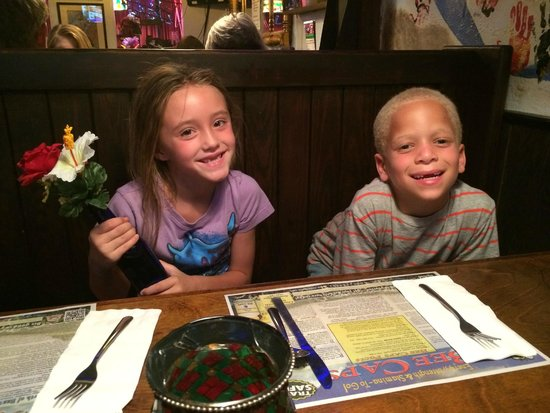 Jolly Roger Restaurant & Pirate Bar: Dinner