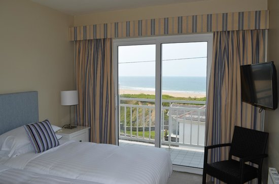 Cliff House Hotel: Seaview room on first floor