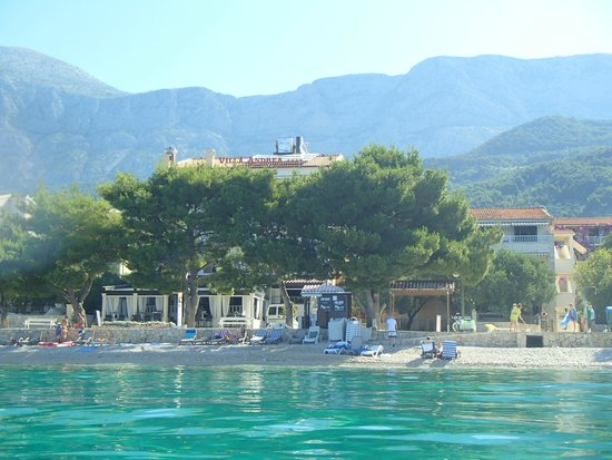 Villa Andrea: Hotel from the sea