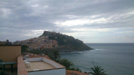Hotel Pedraladda : Panorama su Castelsardo dall'hotel