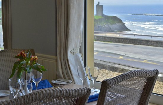 Cliff House Hotel: view of Castlegreen from Cliff Restaurant