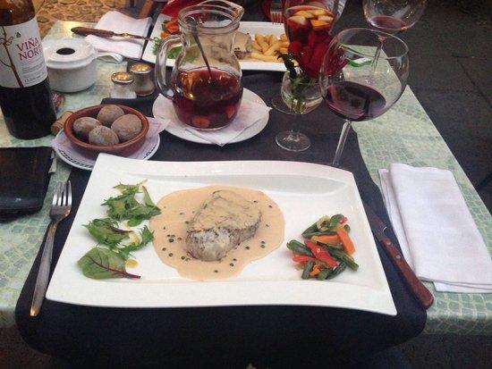 La Marea : Lækker bøf