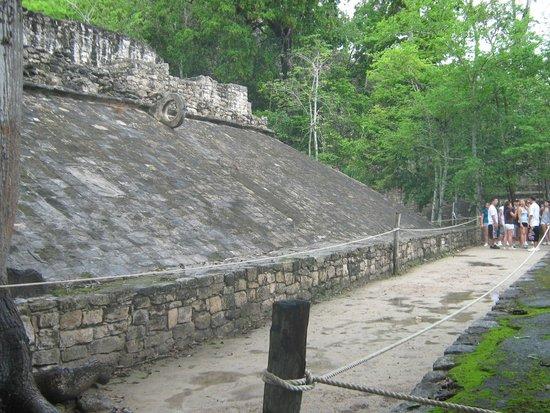 Ruinas de Coba: Juego de Pelota del Grupo Cobá