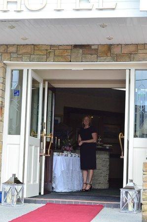 Cliff House Hotel : Your host Fiona O'Callaghan