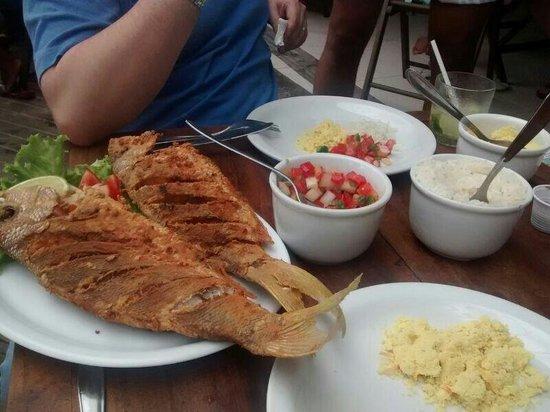 Sambass Café Restaurante: Peixe delicioso