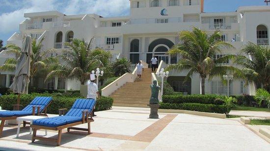 Hotel Casa Turquesa: Casa Turquesa Pool/Beach Entrance