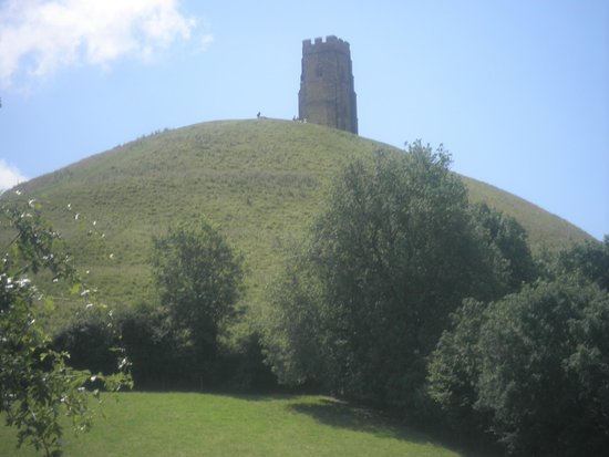 Glastonbury Tor: Our first look at the Tor.