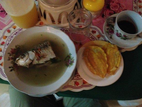 Hotel Pirarucú : Breakfast